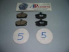 SERIE PASTICCHE FRENO(BRAKE-PADS) ANT RENAULT 5 ALPINA TURBO 81>84 R18 78>82