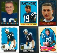 2000 Topps Johnny Unitas Baltimore Colts # R8 1964 Topps Reprint