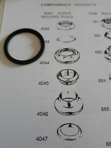 """Nos 4043 Top (track or road)headset tongued-washer Campagnolo/Ofmega/Zeus 1""""..."""