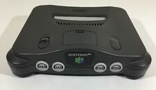 Nintendo 64 N64 Console System Only with Jumper Cleaned Tested Working Good Cond