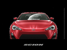 "SCION Windshield Window Banner Decal Sticker 23"" Race Toyota TRD XB TC IQ XD"