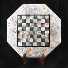 "18"" marble Chess Table Top Inlay Home Decor And Gift"
