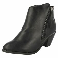 High (3 in. and Up) Unbranded Cuban Heel Boots for Women