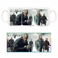Vikings Ragnar Rollo Floki Lagertha Tazza Ceramica Mug Cup Serie Tv Telefilm