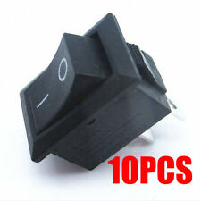 Mini 10pcs/lot 10*15mm 2Pin ON/OFF Boat Rocker Switch Car Truck Button Switch