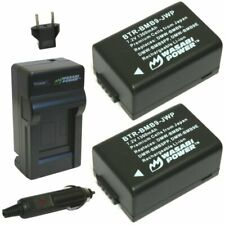 Wasabi Power Battery (2-Pack) and Charger for Leica BP-DC9