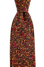 "Mens BRIONI dis.n.D010171 Red Micro Florets Hand Made Woven 3.25"" Silk Tie NWT"