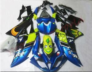 Blue Shark Fairing Kit for Yamaha YZF R6 2008 2009 2010 2011 2012 2013 2014 2016