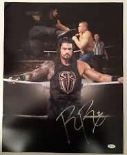 Roman Reigns Signed Autographed 16x20  Photo WWE The Guy JSA Sticker Only 10