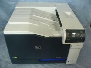 HP CE708A CP5525dn Postscript Network Color Laser Printer 11x17 Tabloid pc 40559