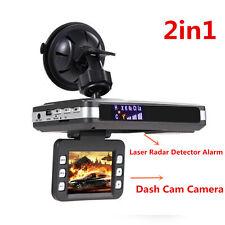 "Multifunction 2.0"" Car DVR Recorder Laser Radar Detector Alarm + Dash Cam Camera"
