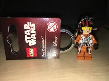 LEGO 853605 Poe Dameron STAR WARS - LEGO Keyring/Keychain - Brand New