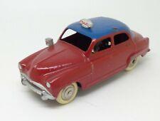 DINKY TOYS Simca 9 Aronde Taxi Réf 24U Bon Etat 1955 no copy 1/43