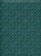 ERISMANN GREEN METALLIC PATTERENED FEATURE DESIGNER VINYL WALLPAPER 5808-18