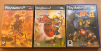 Jak And Daxter: The Precursor Legacy, Jak II & Jak 3 PS2 Bundle