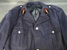 Ancienne veste de sapeurs pompiers costume tissu vêtement théatre french antique