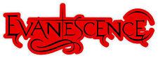 "Evanescence sticker decal 6"" x 2"""