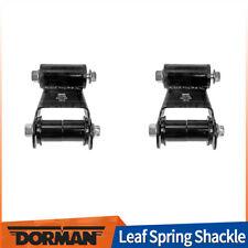 Dorman 2 PCS Rear Rearward Pair Leaf Spring Shackle For 2005-2008 FORD F-150