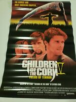 Children of the Corn Fields of Terror Poster 41X27 1998 Rare Cult Movie Sequel