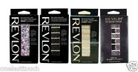 REVLON* UV Cured Tech 3D JEWEL APPLIQUES Nail Art Strips *YOU CHOOSE* 15 Designs