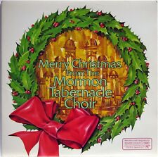 MERRY CHRISTMAS FROM THE MORMON TABERNACLE CHOIR 2X VINYL LP READER'S DIGEST
