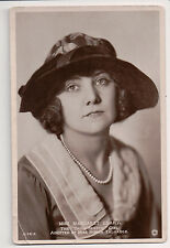 Vintage Postcard Margaret Leahy British actress RPPC