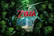 NINTENDO LENGEND OF ZELDA FOREST POSTER NEW 36X24 FREE SHIPPING