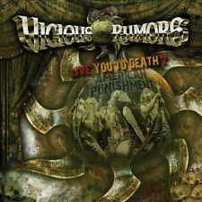 Live You To Death 2-American Punishment - Vicious Rumors (2014, CD NIEUW)