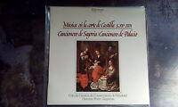 LP Coro Camara Valladolid - Musica Corte De Castilla XV & XVI / Top Zustand