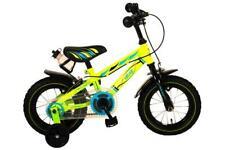 Volare Electric Green Kinderfahrrad - Jungen - 12 Zoll - Grün - Zwei Handbremsen