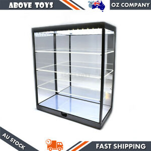 4 Layer LED 1:18/1:24 Scale Cars Model Display Case With USB LED Light Powered