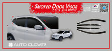 Smoke Tinted Wind Deflector 6pcs for 2014 - 2017 Nissan QASHQAI