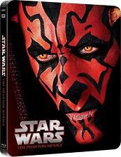 Star Wars I: The Phantom Menace Blu-Ray - Limited Ed. Steelbook * Brand New