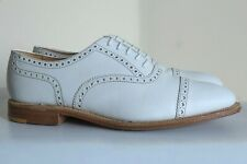 Charles Tyrwhitt White  Oxford Brogues 7 Made In England