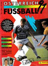 Panini Bundesliga Österreich 1991 komplett Rapid Austria Sturm GAK Salzburg ua
