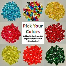 New Genuine LEGO Jewels Gems Crystals Diamonds Lot - PICK YOUR AMOUNT + COLORS