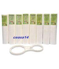 8 PCS Kemflo PP/Spun Filter/Pre-Filter Cartridge For RO/UV Water Filter Purifier