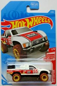 2021 Hot Wheels RED EDITION 1/12 Toyota Off-Road Truck 4/250