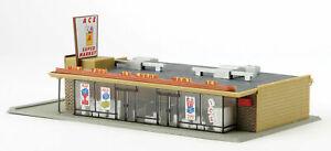 Life-Like 433-1330 Ace Super Market  - Building Kit HO Scale 1:87