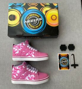 HEELYS Racer Mid 20 Size 2UK WITH BOX_ONLY USED ONCE_PERFECT CONDITION