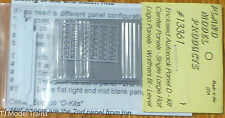 "Plano #13361 Enclosed Autorack Center Panels - ""D"" Kit; For Walthers Bi-Level Ca"