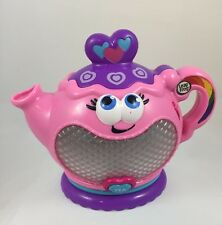 Leap Frog Musical Rainbow Tea Party Teapot  Only  Songs, Sounds Phrases