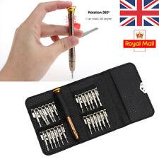 Universal 25 en 1 Mini Destornillador De Precisión Herramienta Reparación Kit Set Torx Kit de reparación de Reino Unido
