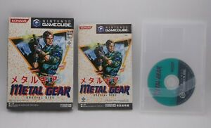 GameCube Metal Gear Special Disc Japan import Nintendo GC Konami Rare Kojima MGS