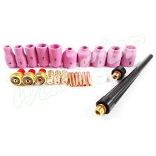 TIG Welding SR WP9 20 25 Consumables KIT Back Cap Insulator Gas Lens 13N 53N 25P