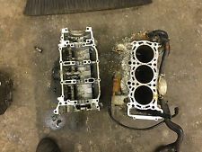 05 06 07 08 Yamaha Rage Nytro Vector Triple Engine Crankcase Cases Motor Block