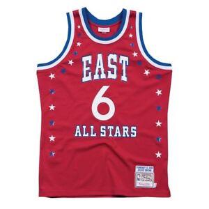 XSJY Mens Basketball Jersey Philadelphia 76Ers 6# Julius Erving Breathable Quick Drying Sleeveless Sport Vest Top Swingman Unisex Sleeveless T-Shirt,L:175~180cm//75~85kg