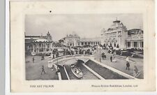 Fine Art Palace, Franco British Exhibition, 1908 PPC, To Gertie Lee, Cardiff