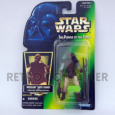 STAR WARS Kenner Hasbro Action Figure - POTF POTF2 - Weequay Skiff Guard