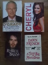 Collection Joblot 4 Books PAUL O'GRADY CHERYL COLE RUSSELL BRAND DAWN FRENCH VGC
